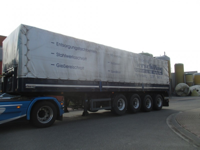 Meierling Meierling STEEL TRAILER 2 lift axle and 2 self steering ...