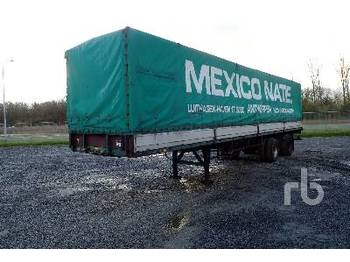 PACTON 2530D T/A - curtainsider semi-trailer