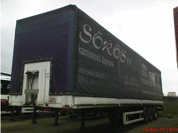 PANAV Edscha - curtainsider semi-trailer