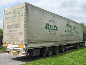 PANAV MEGA Lowdeck EDSCHA - curtainsider semi-trailer