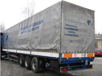 PANAV NV 35 Edscha - curtainsider semi-trailer