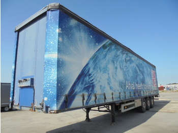 Pacton 3142 D - curtainsider semi-trailer