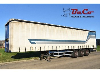 Pacton T3-001 - SAF AXLES - 1 LIFT AXLE - DISC BRAKES - SLIDING ROOF - - curtainsider semi-trailer