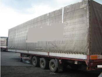 Panav Lowdeck / Edscha - curtainsider semi-trailer
