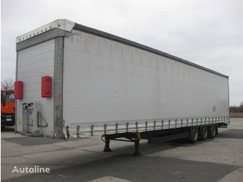 Curtainsider semi-trailer SCHMITZ CARGOBULL SCS 24/L - 13.62 Mega tříosý
