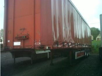 SDC Tri axle Curtainsider - curtainsider semi-trailer