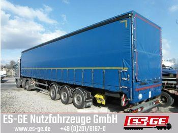 Curtainsider semi-trailer Schmidt 3-Achs-Sattelanhänger mit Plane