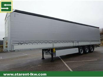 نصف مقطورة ستارة Schmitz Cargobull Bordwandtautliner,Liftachse, XL-Zert., Palka