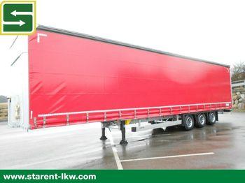 Curtainsider semi-trailer Schmitz Cargobull Megatrailer,Hubdach,Liftachse,XL & Getränke Zert