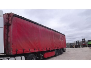 Curtainsider semi-trailer Schmitz Cargobull S 01 (MERCEDES AXLES)
