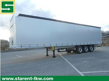 Curtainsider semi-trailer Schmitz Cargobull Tautliner, Hubdach, Liftachse, XL+Getränke Zert.
