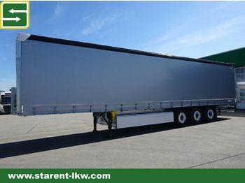 Curtainsider semi-trailer Schmitz Cargobull Tautliner Liftachse, Alu-Latten, Alu- Felgen, XL