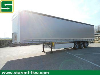 Curtainsider semi-trailer Schmitz Cargobull Tautliner, Liftachse, Palettenkasten