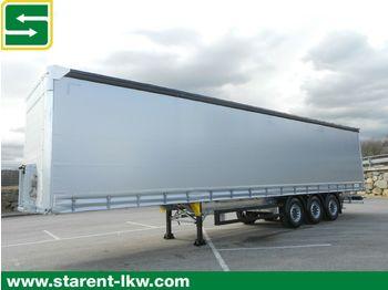 Curtainsider semi-trailer Schmitz Cargobull Tautliner, Liftachse, XL + Getränke Zertifikat