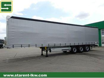Curtainsider semi-trailer Schmitz Cargobull Tautliner Liftachse, XL Zertifikat