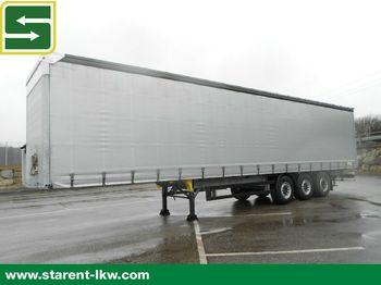 Curtainsider semi-trailer Schmitz Cargobull Tautliner, Liftachse, XL-Zertifikat, Multilook