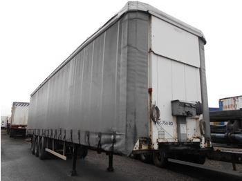 Curtainsider semi-trailer Trouillet