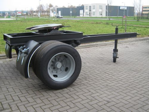 Div Bladgeveerde Dolly Semi Trailer From Netherlands For