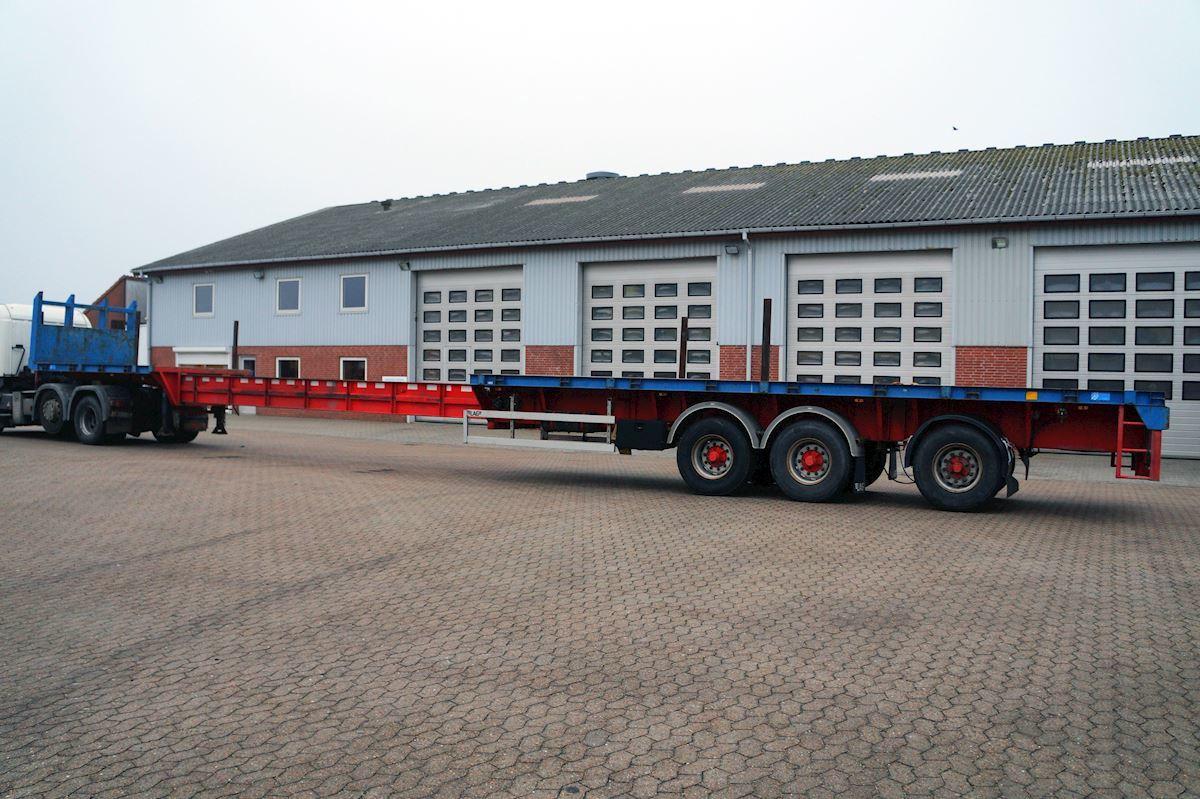 dropside/ flatbed semi-trailer LAG 0-3-40 US