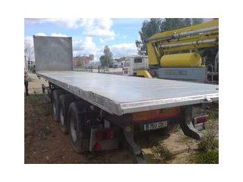 Benalu T34 - dropside semi-trailer