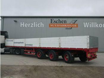Dropside semi-trailer Dinkel 2 Achsen gelenkt, SAF, Luft/Lift