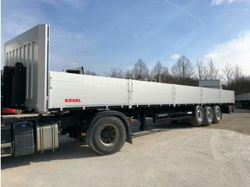 Leasing Kögel Multi Baustoff 32 Rungentaschen Liftachse BW 800  - dropside semi-trailer