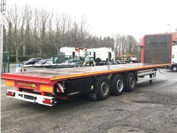 Dropside semi-trailer  / -  Plateau Auflieger Sumo SP 13.7