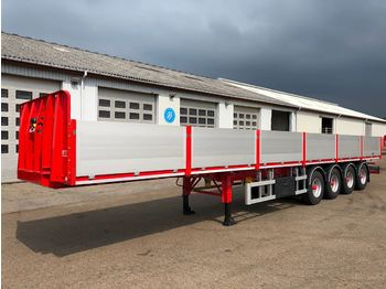 SDC ALU sider - dropside semi-trailer