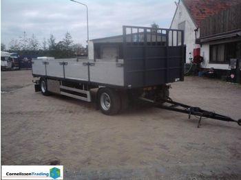Stas System trailer met containerlocks - dropside semi-trailer