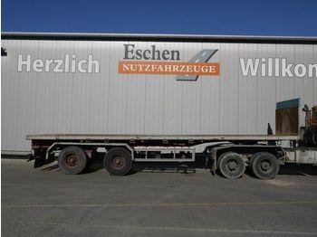 Flatbed semi-trailer Auflieger Plattform, Luft, BPW
