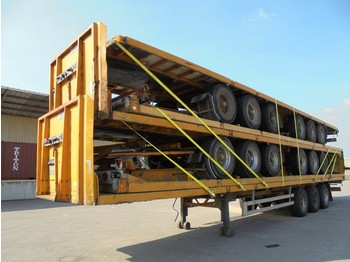 Burg WE HAVE 20 IN STOCK - flatbed semi-trailer