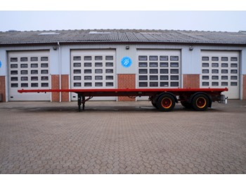 Flatbed semi-trailer DAPA