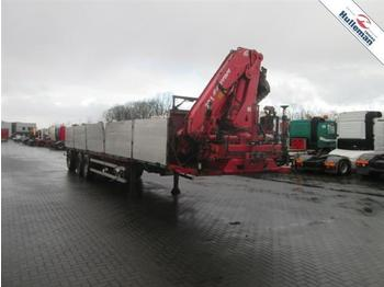 EKERI TRAILER FERRARI 721 17T.year 2006  - flatbed semi-trailer