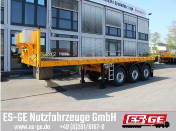 Flatbed semi-trailer ES-GE 3-Achs-Ballastauflieger