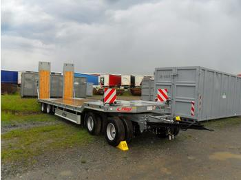 FLIEGL VTS 400 - flatbed semi-trailer