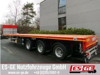 Faymonville 3-Achs-Sattelauflieger - 2-fach teleskopierbar  - flatbed semi-trailer