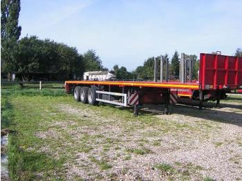 Faymonville 3-Achs-Sattelauflieger - teleskobierbar - flatbed semi-trailer
