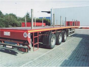 Faymonville 3-Achs-Sattelauflieger - teleskopierbar - flatbed semi-trailer