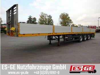 Flatbed semi-trailer Faymonville MAX Trailer 3-Achs-Sattelauflieger - Bordwände