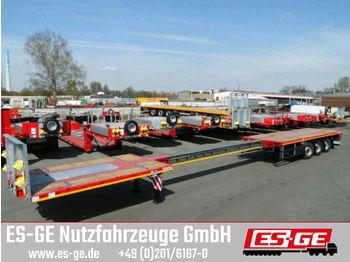 Faymonville MAX Trailer 3-Achs-Teleauflieger - hydr. gelenkt  - flatbed semi-trailer