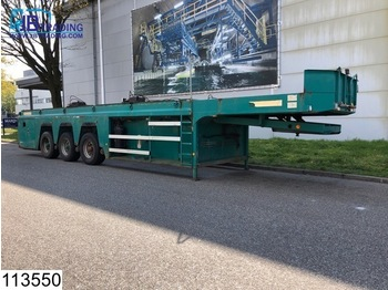 Faymonville open laadbak Concrete slab / Betonplaten transport - flatbed semi-trailer