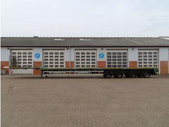 Flatbed semi-trailer Goldhofer STZ-DL 4 AA