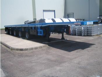 KÄSSBOHRER  - flatbed semi-trailer