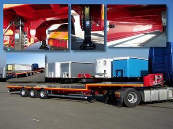 Kässbohrer JB JUMBOSATTEL 92 cm / BPW / 5400 kg leer NEU - flatbed semi-trailer
