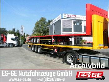 Flatbed semi-trailer Kögel 3-Achs-Multi-Sattelanhänger