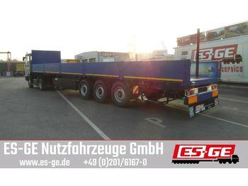 Flatbed semi-trailer Kögel 3-Achs-Multi-Sattelanhänger - Bordwände