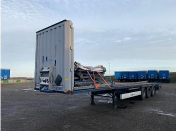 Krone Flat - flatbed semi-trailer