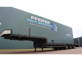 Lintrailers 3LS-DU.18.27 3 axle extendable trailer  - flatbed semi-trailer