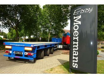 Flatbed semi-trailer Nooteboom OVB-55VV 2x Teleskopisch