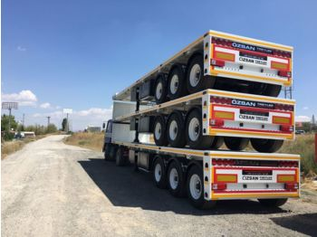 Ozsan Trailer Container Carrier (OZS-CCA) - flatbed semi-trailer